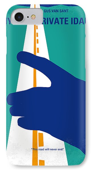 No472 My Own Private Idaho Minimal Movie Poster IPhone Case by Chungkong Art