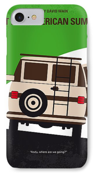No481 My Wet Hot American Summer Minimal Movie Poster IPhone Case by Chungkong Art