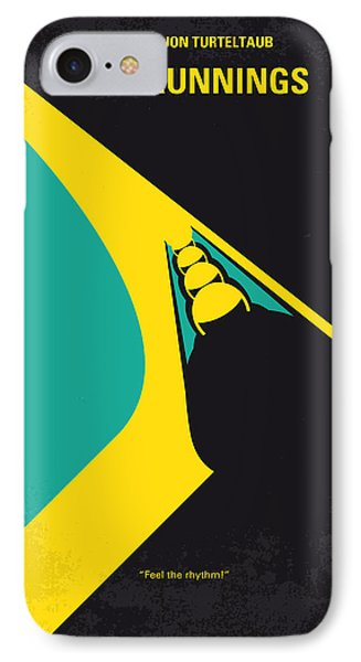 No538 My Cool Runnings Minimal Movie Poster IPhone Case by Chungkong Art