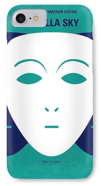 No571 My Vanilla Sky Minimal Movie Poster IPhone Case by Chungkong Art