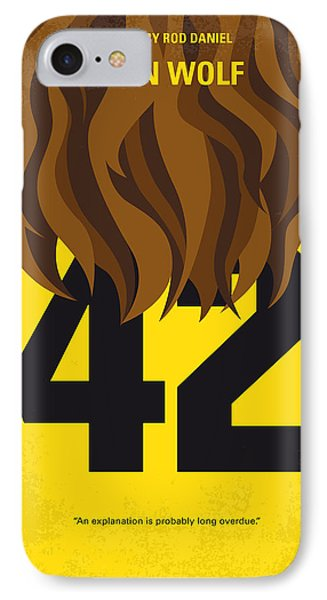 No607 My Teen Wolf Minimal Movie Poster IPhone Case by Chungkong Art