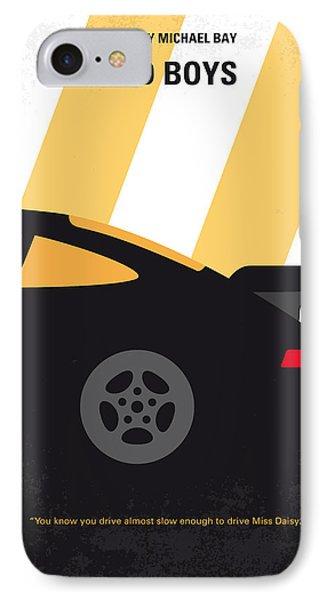 No627 My Bad Boys Minimal Movie Poster IPhone Case by Chungkong Art