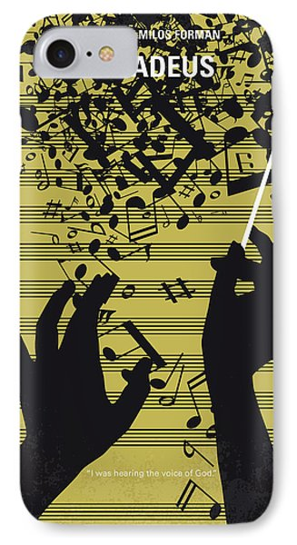 No725 My Amadeus Minimal Movie Poster IPhone Case by Chungkong Art