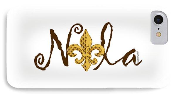 Nola In Brown IPhone Case by NolaOriginals