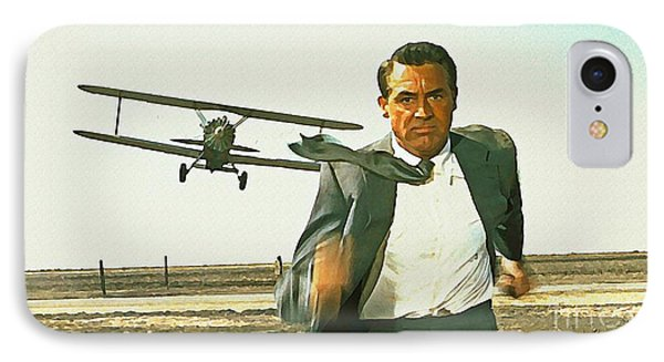 North By Northwest IPhone Case by John Malone
