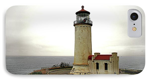 North Head Lighthouse - Graveyard Of The Pacific - Ilwaco Wa IPhone Case by Christine Till