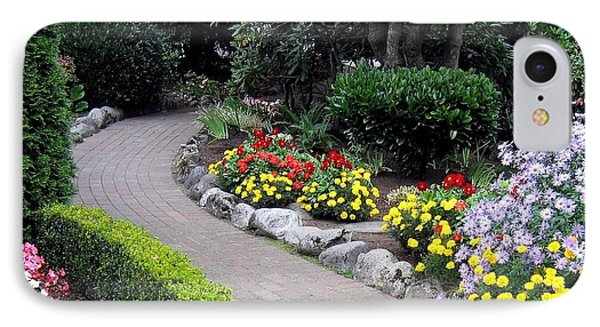 North Vancouver Garden IPhone Case by Will Borden