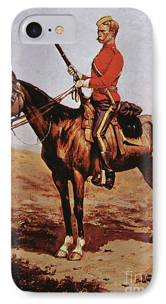 North West Mounted Police Of Canada IPhone Case by Frederic Remington