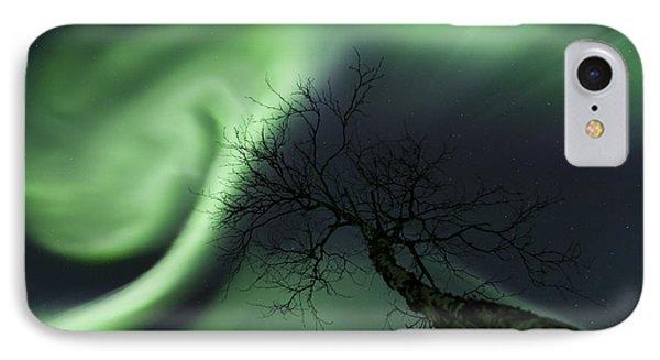 Northern Lights In The Arctic Phone Case by Arild Heitmann
