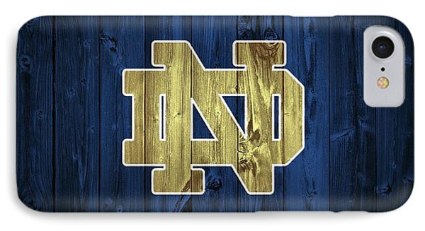 Notre Dame Barn Door IPhone Case by Dan Sproul