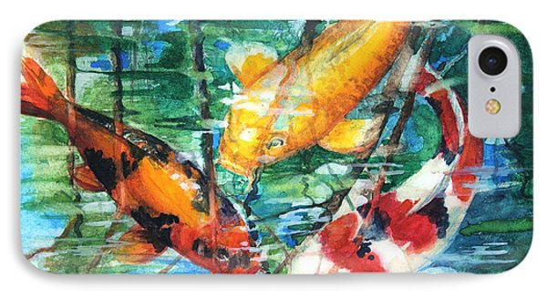 November Koi IPhone Case by Patricia Allingham Carlson