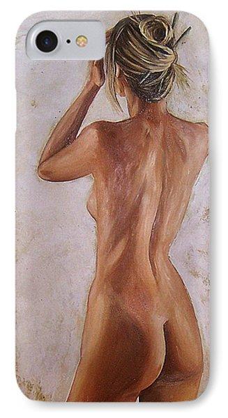 Nude Phone Case by Natalia Tejera