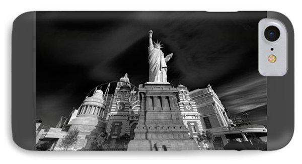 Ny Ny Las Vegas IPhone Case by Steve Gadomski