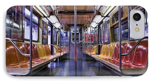 Nyc Subway Phone Case by Kelley King