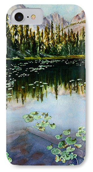 Nymph Lake Phone Case by Mary Benke