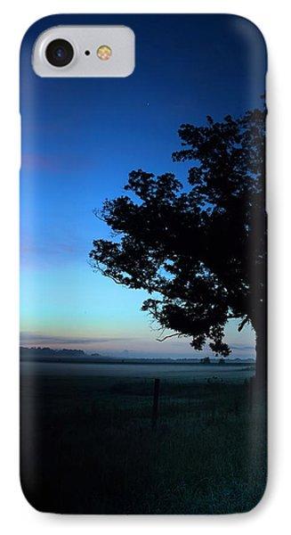 Oak Silhouette IPhone Case by Gestalt Imagery