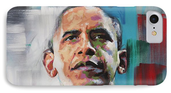 Obama IPhone 7 Case by Richard Day