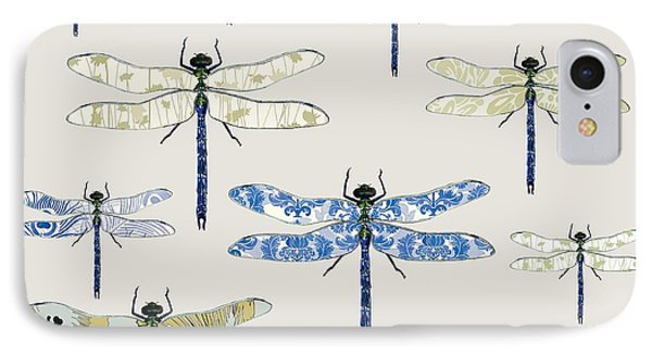 Odonata IPhone 7 Case by Sarah Hough