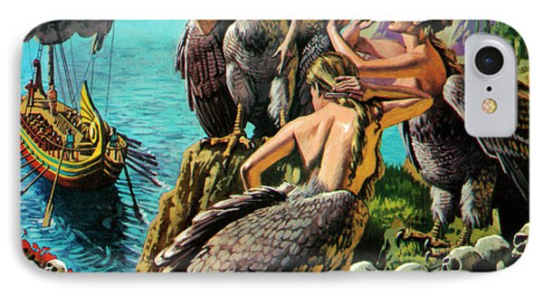 Odysseus And The Sirens IPhone Case by English School