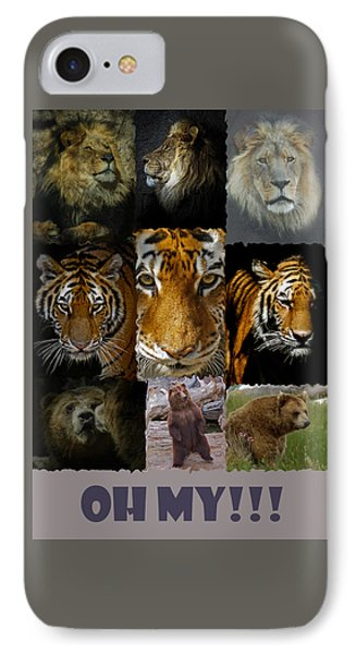 Oh My IPhone Case by Ernie Echols