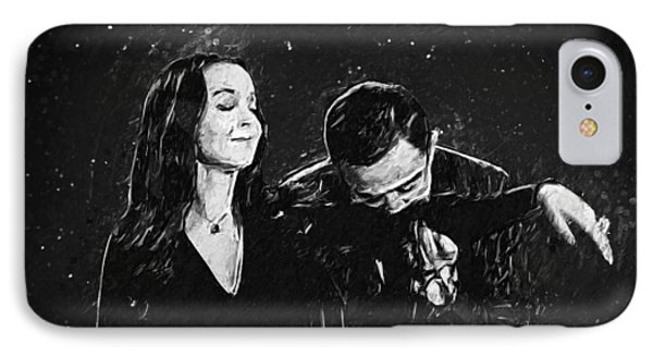 Oh Tish I Love It When You Speak French - The Addams Family  IPhone Case by Taylan Apukovska