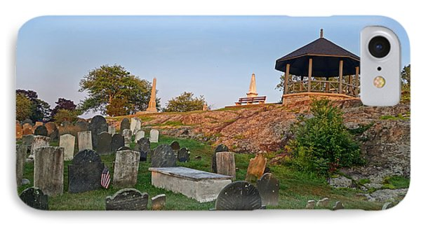 Old Burial Hill Gazebo Marblehead Ma IPhone Case by Toby McGuire