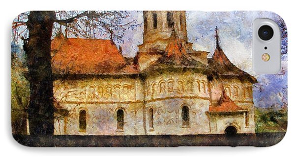Old Church With Red Roof Phone Case by Jeff Kolker
