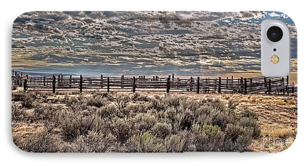 Old Corral IPhone Case by Robert Bales