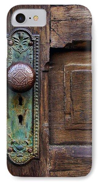Old Door Knob Phone Case by Joanne Coyle