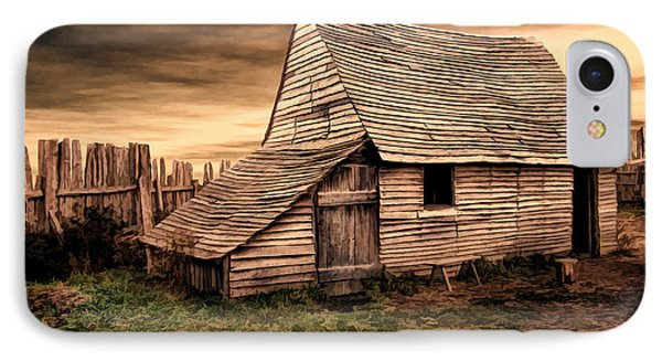 Old English Barn IPhone Case by Lourry Legarde