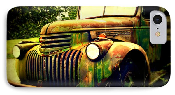 Old Flatbed 2 IPhone 7 Case by Perry Webster
