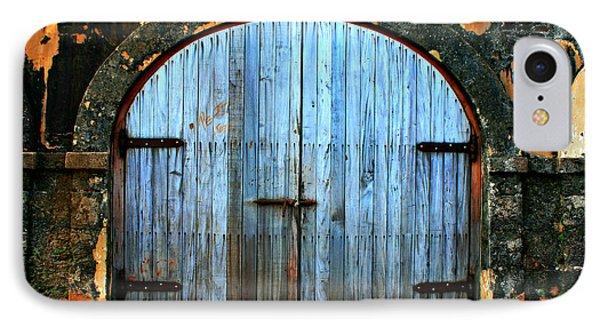 Old Fort Doors Phone Case by Perry Webster
