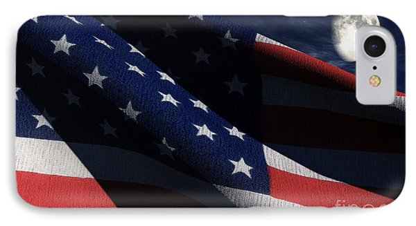 Old Glory 2 IPhone Case by Richard Rizzo