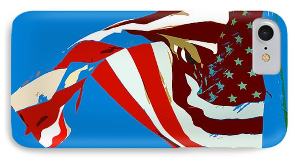 Old Glory Flying IPhone Case by David Lee Thompson