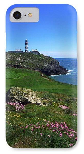 Old Head Of Kinsale Lighthouse IPhone Case by The Irish Image Collection