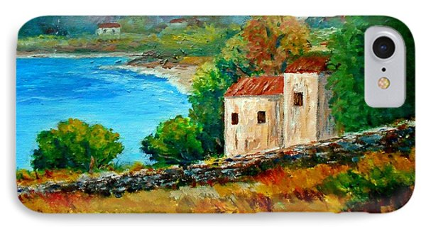 Old House In Mani Phone Case by Constantinos Charalampopoulos
