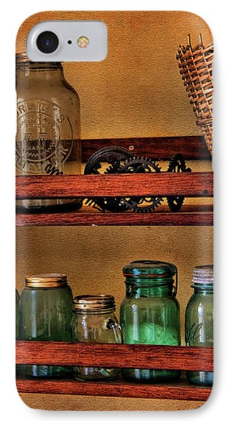 Old Jars Phone Case by Lana Trussell