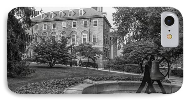 Old Main Penn State University  IPhone 7 Case by John McGraw