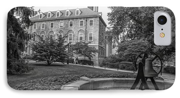 Old Main Penn State University  IPhone Case by John McGraw