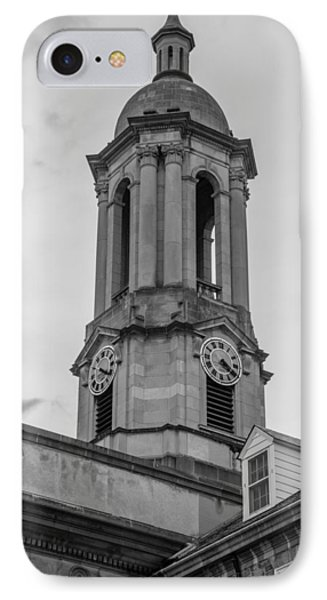 Old Main Tower Penn State IPhone 7 Case by John McGraw