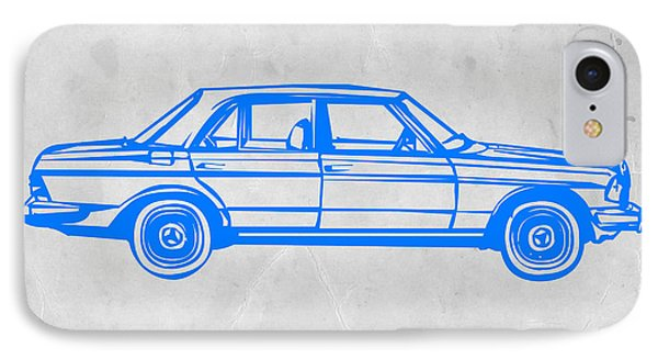 Old Mercedes Benz IPhone Case by Naxart Studio