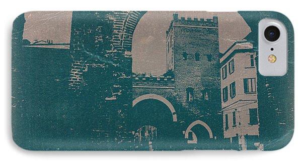 Old Milan Phone Case by Naxart Studio