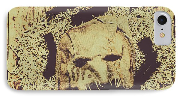 Old Outback Horrors IPhone Case by Jorgo Photography - Wall Art Gallery
