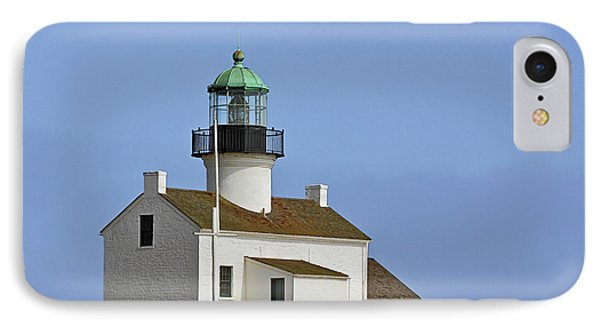 Old Point Loma Lighthouse San Diego California Phone Case by Christine Till
