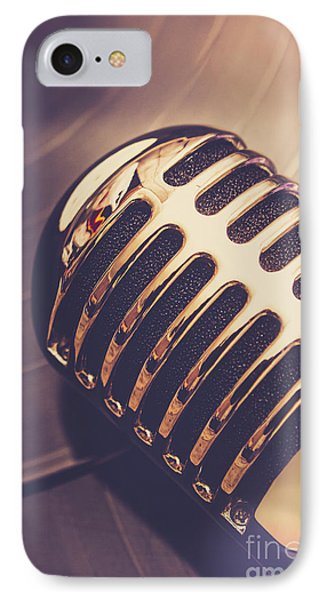Old Radio Nostalgia IPhone Case by Jorgo Photography - Wall Art Gallery