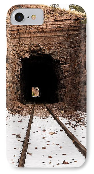Old Railroad Tunnel Phone Case by Sue Smith