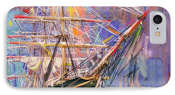 Old Ship 226 4 IPhone 7 Case by Mawra Tahreem