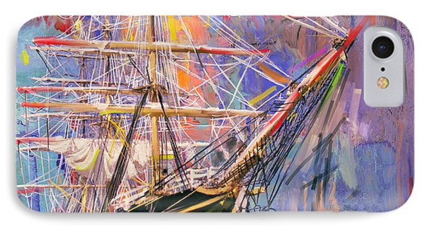 Old Ship 226 4 IPhone Case by Mawra Tahreem