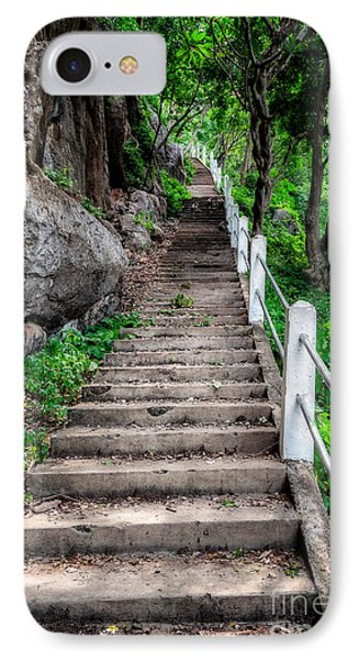 Old Steps IPhone Case by Adrian Evans