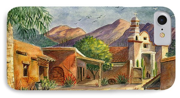 Old Tucson Phone Case by Marilyn Smith